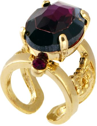 ASOS Collection Limited Edition Ornate Jewel Ring - Lyst