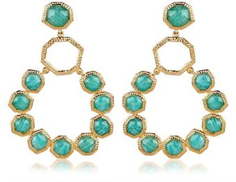 Isharya Gem Rocks Goddess Earrings - Lyst