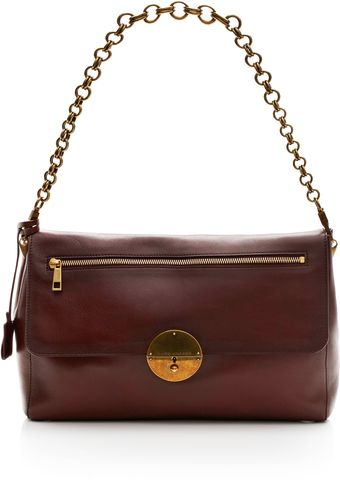 Marc Jacobs Gotham Waxed Big Apple Shoulder Bag - Lyst