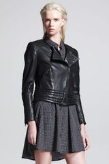 Rag & Bone Clare Leather Motorcycle Jacket - Lyst