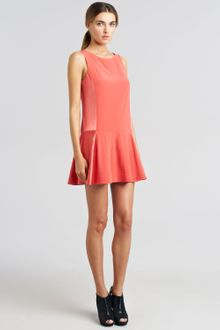 Rag & Bone Sofia Bifabric Flounce Dress - Lyst