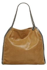 Stella McCartney Medium Falabella Shoulder Bag In Camel  - Lyst