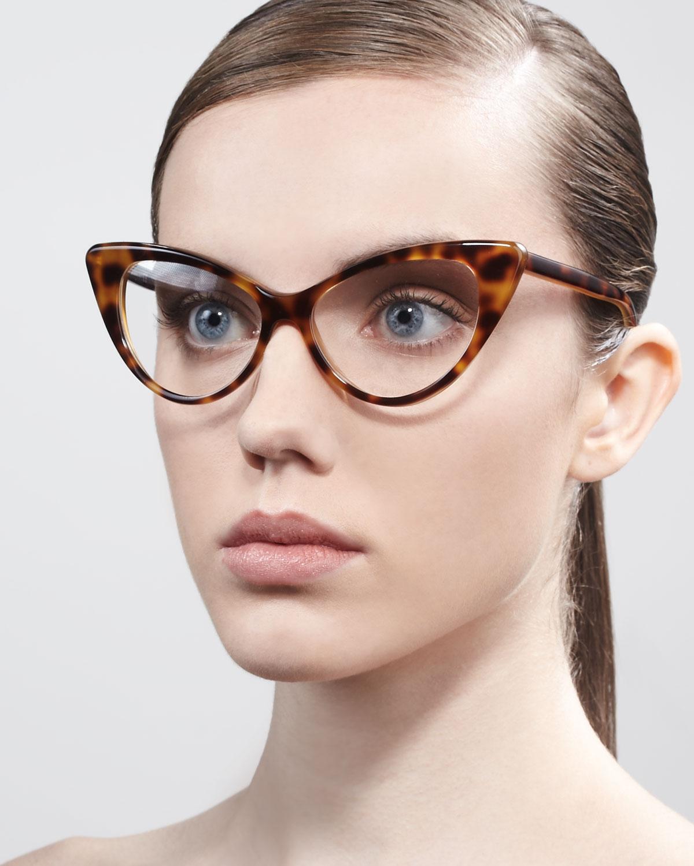 e67ebbf27b Lyst tom ford cateye glasses in brown jpg 1200x1500 Tom ford optical eyewear  women