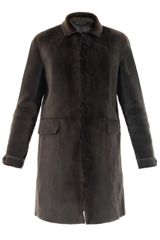 Burberry Prorsum Shaved Shearling Coat - Lyst
