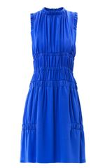 Christopher Kane Gathered Sleeveless Dress - Lyst