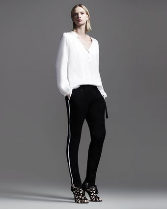 Elizabeth And James Christina Tuxedo Track Pants - Lyst