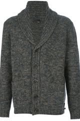 Fendi Shawl Collar Cardigan - Lyst