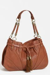 Jessica Simpson Kenya Faux Leather Satchel - Lyst