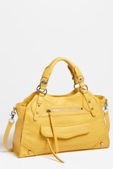 Jessica Simpson Melrose Faux Leather Satchel - Lyst