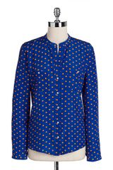 Kut From The Kloth Sabina Polka Dot Blouse - Lyst