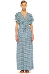 Michael by Michael Kors Printed Maxi Dress - Lyst