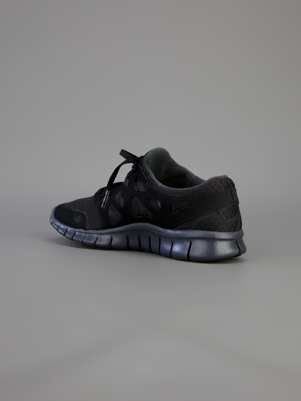 lyst nike free run 2 nsw trainer in black for men. Black Bedroom Furniture Sets. Home Design Ideas