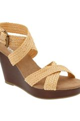 Old Navy Braided Wedges - Lyst