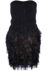 Roberto Cavalli Sequinned Cocktail Dress - Lyst