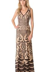 Temperley London Wave Embroidery Gown - Lyst