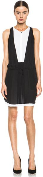 A.L.C. Solange Dress in Black - Lyst