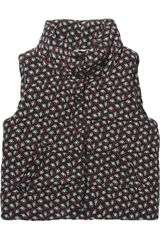 Band Of Outsiders Rosebudprint Quilted Silk Vest - Lyst