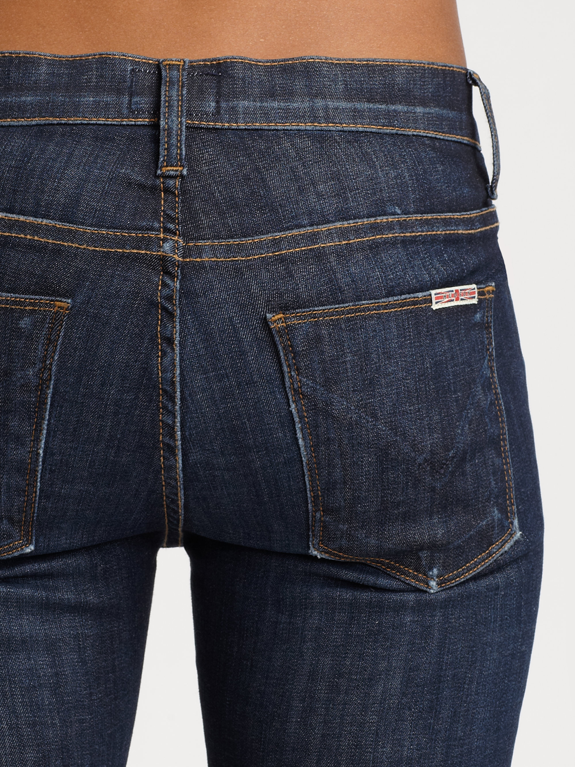 81ff01a3226 Hudson Jeans Nico Midrise Super Skinny Jeans in Blue - Lyst