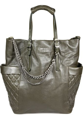 Jimmy Choo Biker Pocket Tote - Lyst