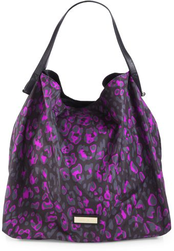 Jimmy Choo Spotted Nylon Tote - Lyst
