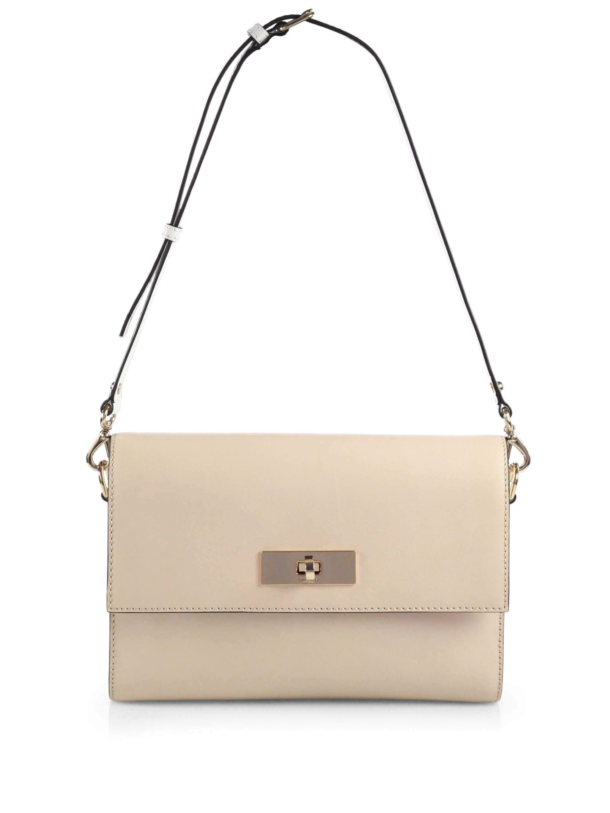 Kate spade new york Battery Park City Shoulder Bag in Natural | Lyst