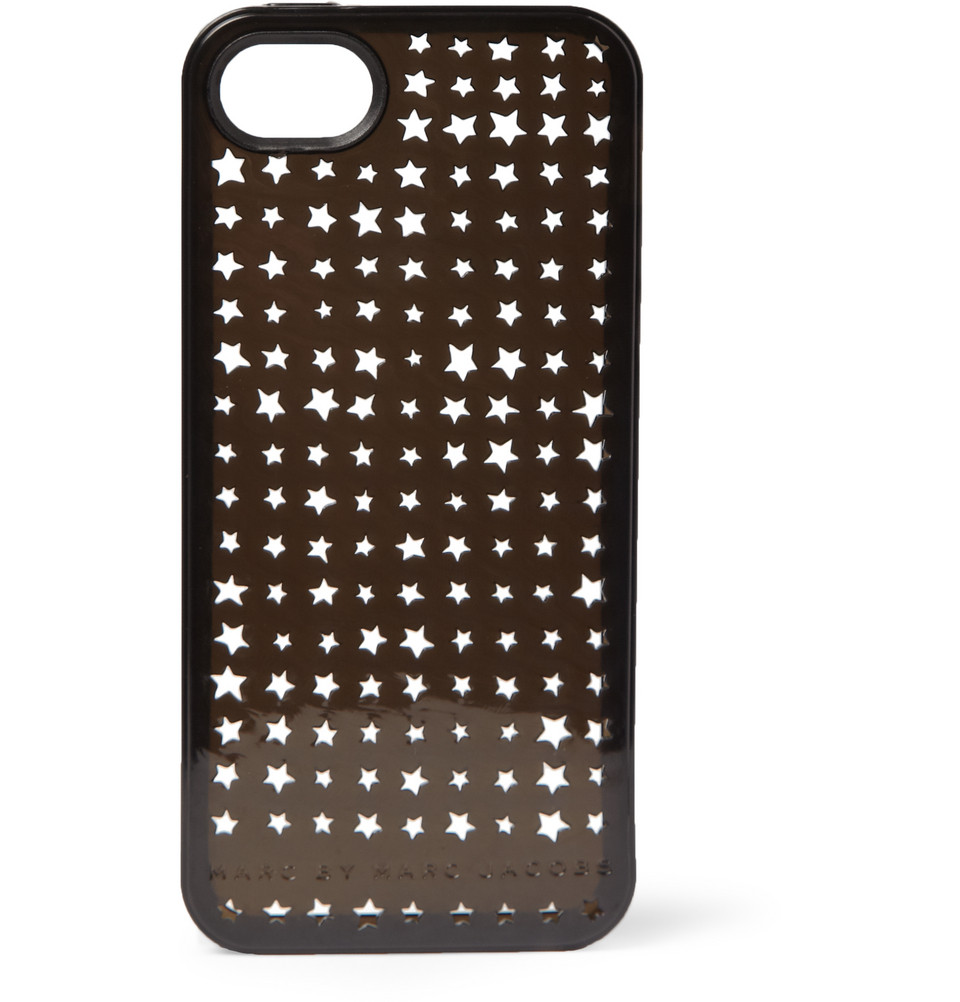 marc by marc jacobs star patterned cutout iphone 5 case in. Black Bedroom Furniture Sets. Home Design Ideas