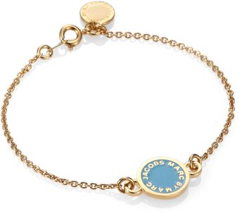 Marc By Marc Jacobs Enamel Disc Chain Bracelet - Lyst