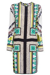 MSGM Printed Dress - Lyst