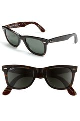 Ray-Ban Classic Wayfarer 50mm Sunglasses - Lyst