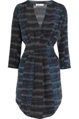 See By Chloé Printed Silk Dress - Lyst