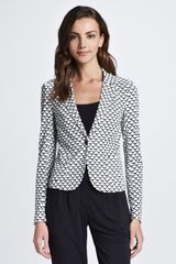Tory Burch Hayley Printed Jacket - Lyst