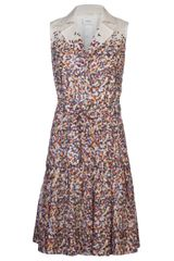 Akris Punto Print Shirt-dress - Lyst