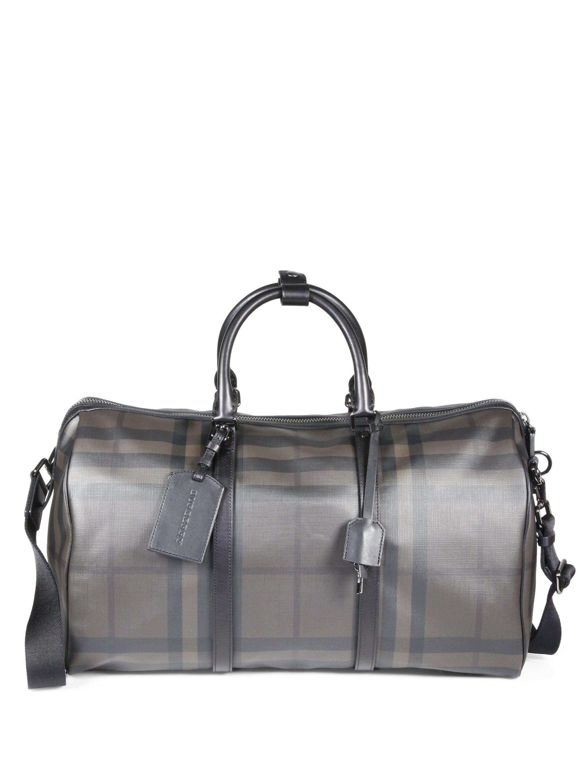 Burberry Black Leather Duffle Bag   ReGreen Springfield 88ba9a78ac
