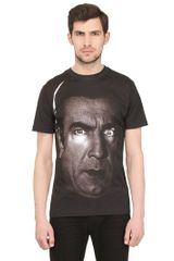 Christopher Kane Dracula Cotton Jersey Tshirt Oversized - Lyst