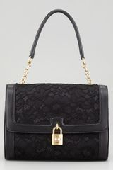 Dolce & Gabbana Miss Dolce Lace Shoulder Bag - Lyst