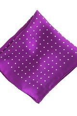 J.Crew Silk Dot Pocket Square - Lyst