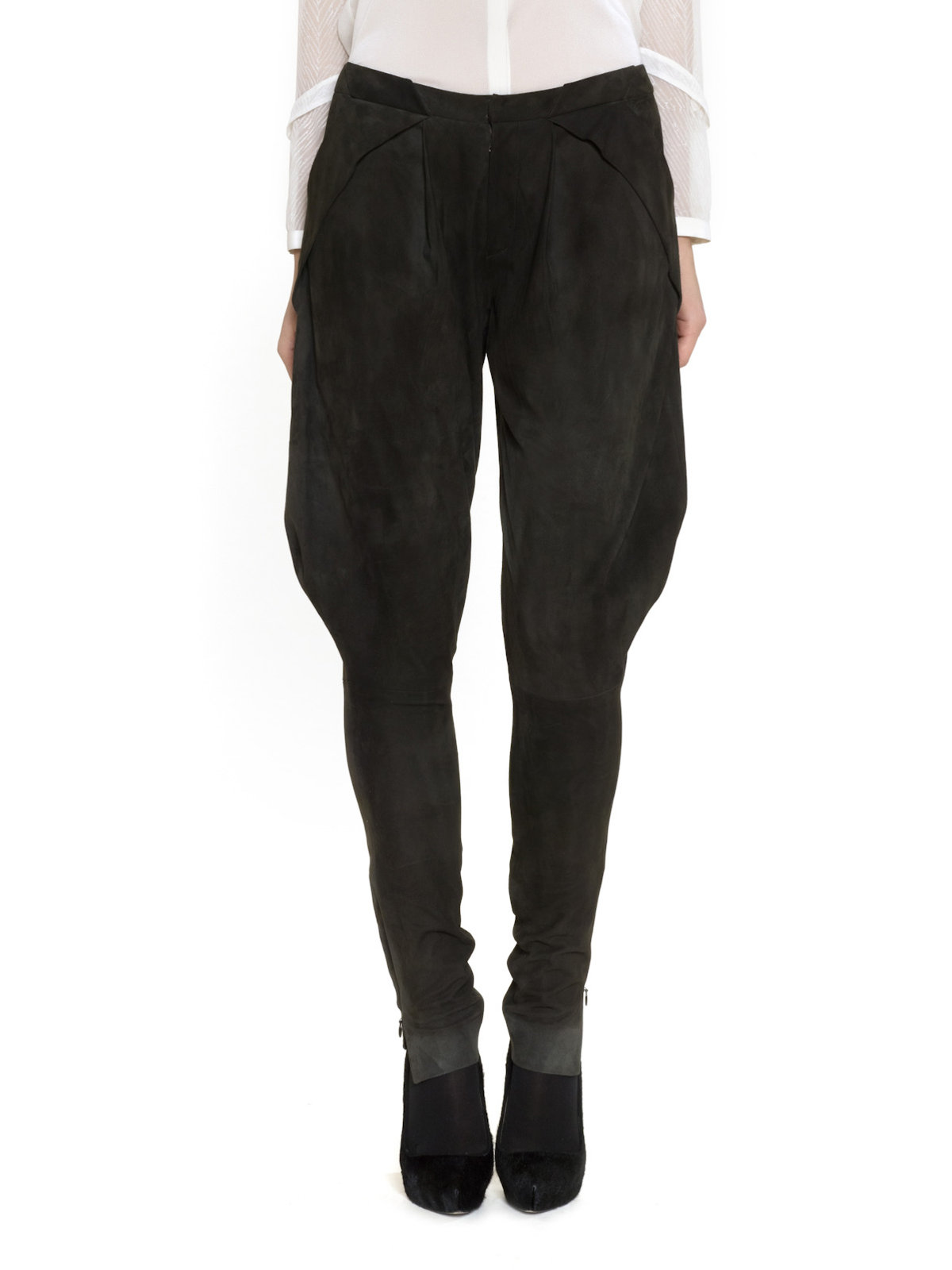 Lyst Maiyet Pleated Jodhpur Pant In Black