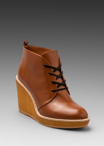Marc By Marc Jacobs Mbmj Classics Half Calf Crepe Boot in Tan - Lyst