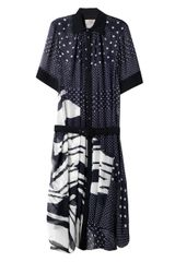 Preen Fallonprint Georgette Dress - Lyst