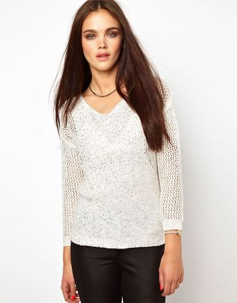 River Island Sequin Jumper - Lyst