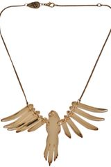 Tatty Devine Parakeet Necklace - Lyst