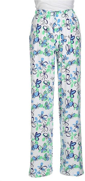 Hue Printed Cotton Sleep Pants - Lyst