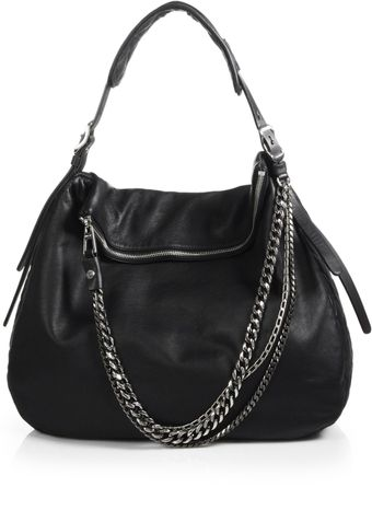 Jimmy Choo Biker Boho Large Shoulder Bag - Lyst