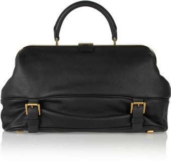 Michael Kors Leather Satchel - Lyst