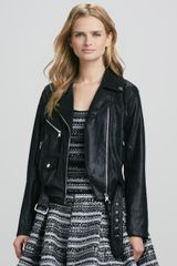 Milly Motorcycle Jacket - Lyst
