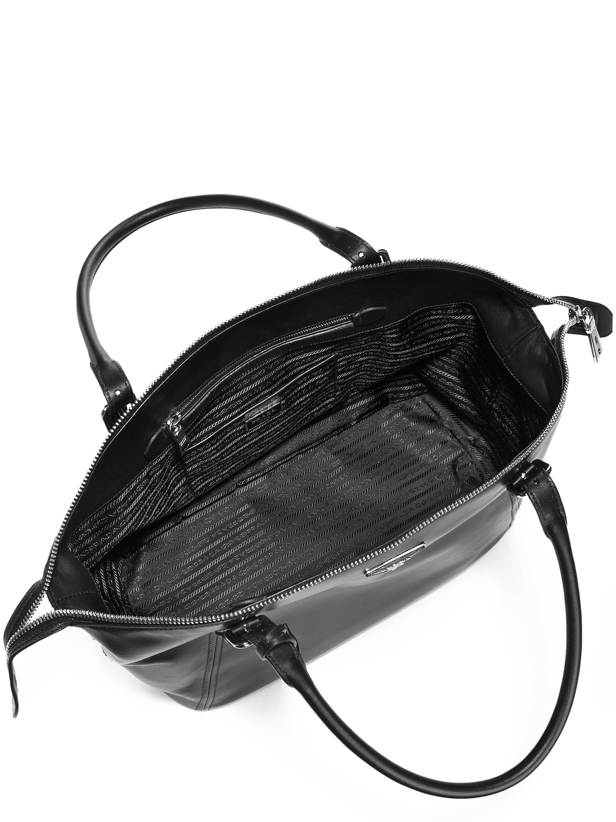 prada baltic nero handbag