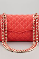 Rebecca Minkoff Quilted Affair Mini Shoulder Bag - Lyst