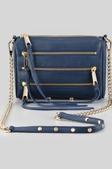 Rebecca Minkoff Mini 5zip Crossbody Bag - Lyst