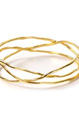 Gorjana 18k Gold Plated Laurel Bangle - Lyst