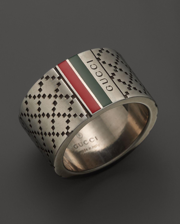 Gucci Diamantissima Ring Men